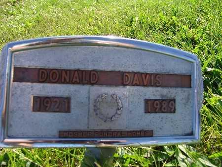 DAVIS, DONALD - Warren County, Iowa   DONALD DAVIS