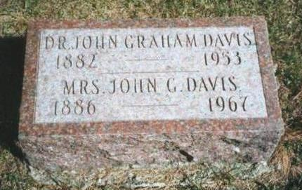 DAVIS, JOHN GRAHAM  (DR.) - Warren County, Iowa | JOHN GRAHAM  (DR.) DAVIS