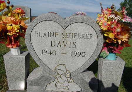 DAVIS, ELAINE SEUFERER - Warren County, Iowa   ELAINE SEUFERER DAVIS