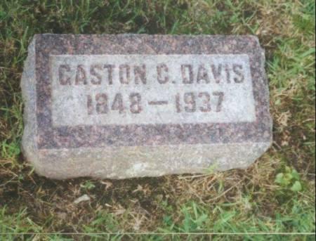 DAVIS, GASTON CROOKS - Warren County, Iowa | GASTON CROOKS DAVIS