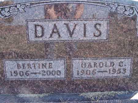 DAVIS, BERTINE - Warren County, Iowa | BERTINE DAVIS