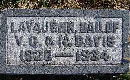 DAVIS, LAVAUGHN - Warren County, Iowa   LAVAUGHN DAVIS