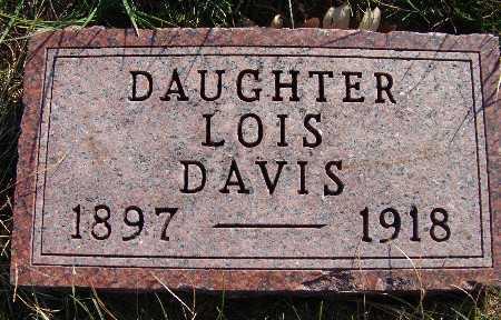DAVIS, LOIS - Warren County, Iowa | LOIS DAVIS