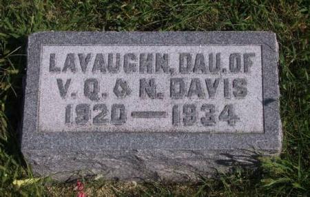 DAVIS, LAVAUGHN - Warren County, Iowa | LAVAUGHN DAVIS