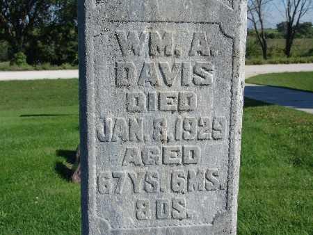 DAVIS, WM. A - Warren County, Iowa   WM. A DAVIS