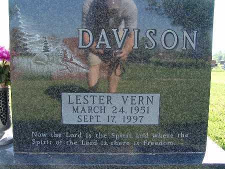 DAVISON, LESTER VERN - Warren County, Iowa   LESTER VERN DAVISON