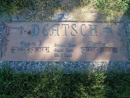 DEATSCH, MARTHA C. - Warren County, Iowa | MARTHA C. DEATSCH