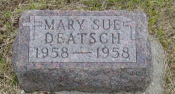 DEATSCH, MARY SUE - Warren County, Iowa | MARY SUE DEATSCH