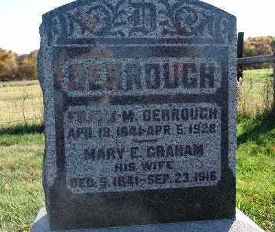 DERROUGH, FRANK M. - Warren County, Iowa | FRANK M. DERROUGH