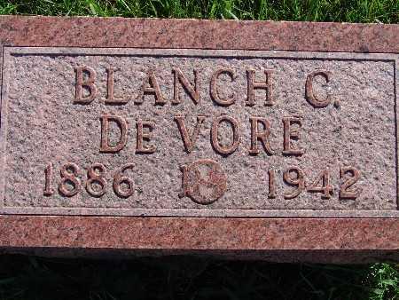 DEVORE, BLANCH C. - Warren County, Iowa | BLANCH C. DEVORE