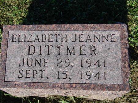DITTMER, ELIZABETH JEANNE - Warren County, Iowa | ELIZABETH JEANNE DITTMER