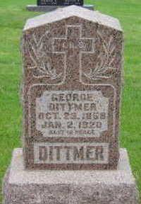 DITTMER, GEORGE - Warren County, Iowa   GEORGE DITTMER