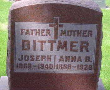 DITTMER, ANNA B - Warren County, Iowa | ANNA B DITTMER