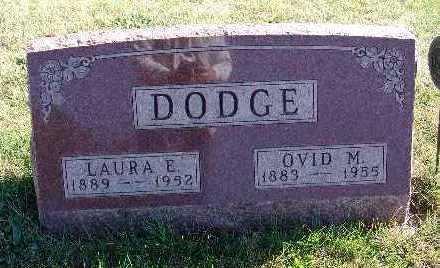 DODGE, LAURA E. - Warren County, Iowa | LAURA E. DODGE