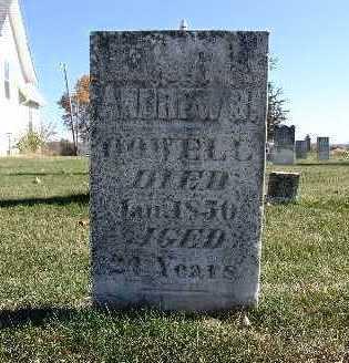DOWELL, ANDREW B. - Warren County, Iowa | ANDREW B. DOWELL