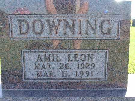 DOWNING, AMIL LEON - Warren County, Iowa | AMIL LEON DOWNING