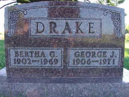 DRAKE, BERTHA G. - Warren County, Iowa   BERTHA G. DRAKE