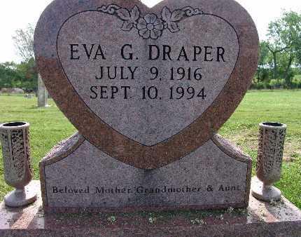 DRAPER, EVA G. - Warren County, Iowa   EVA G. DRAPER