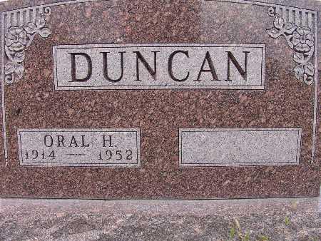 DUNCAN, ORAL H. - Warren County, Iowa | ORAL H. DUNCAN