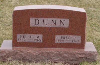 DUNN, NELLIE M - Warren County, Iowa | NELLIE M DUNN