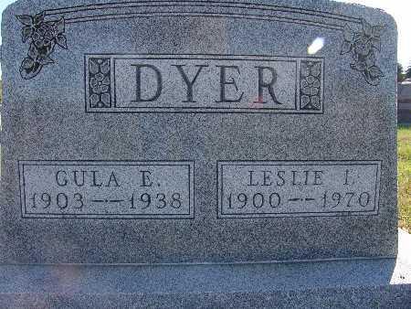 DYER, LESLIE I. - Warren County, Iowa | LESLIE I. DYER