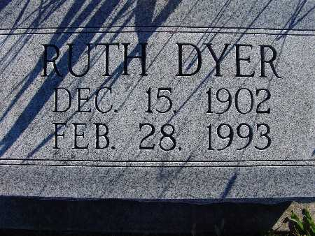 DYER, RUTH - Warren County, Iowa | RUTH DYER