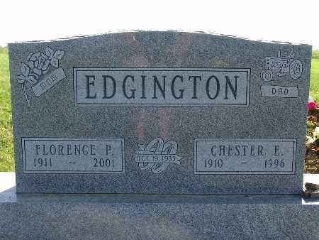 EDGINGTON, CHESTER E - Warren County, Iowa | CHESTER E EDGINGTON