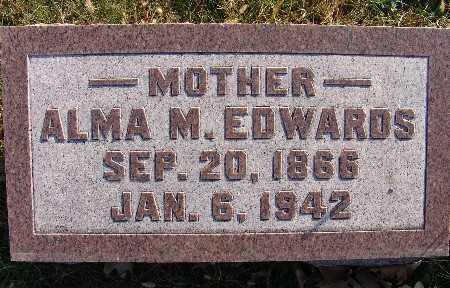 EDWARDS, ALMA M. - Warren County, Iowa | ALMA M. EDWARDS