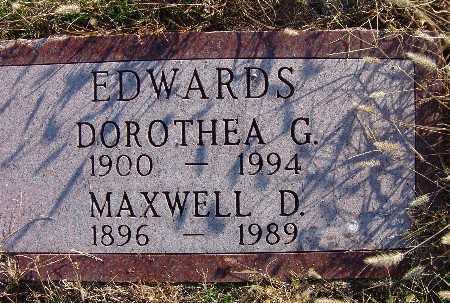 EDWARDS, DOROTHEA G. - Warren County, Iowa | DOROTHEA G. EDWARDS