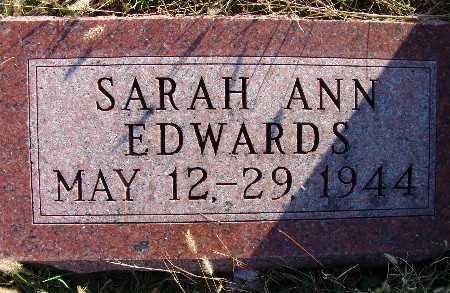 EDWARDS, SARAH ANN - Warren County, Iowa | SARAH ANN EDWARDS