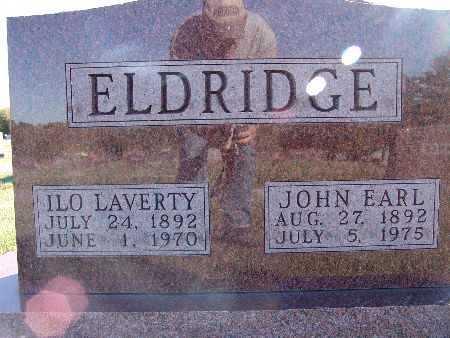 ELDRIDGE, ILO LAVERTY - Warren County, Iowa | ILO LAVERTY ELDRIDGE