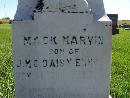 EMMONS, MACK MARVIN - Warren County, Iowa | MACK MARVIN EMMONS