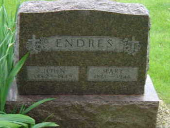 ENDRES, MARY - Warren County, Iowa | MARY ENDRES