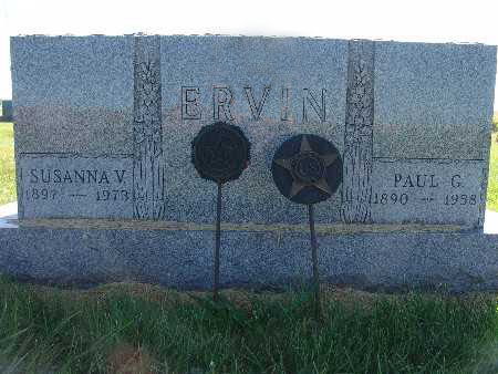 ERVIN, SUSANNA V. - Warren County, Iowa | SUSANNA V. ERVIN