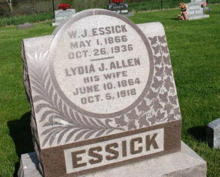 ESSICK, W. J. - Warren County, Iowa | W. J. ESSICK