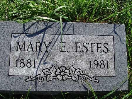 ESTES, MARY E. - Warren County, Iowa | MARY E. ESTES