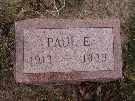 EWING, PAUL E. - Warren County, Iowa   PAUL E. EWING