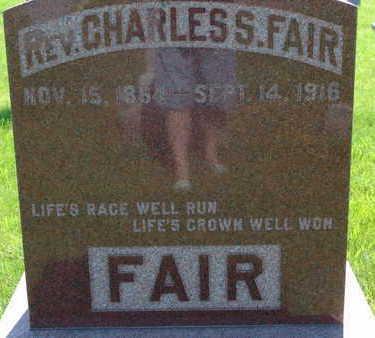 FAIR, CHARLES S - Warren County, Iowa | CHARLES S FAIR