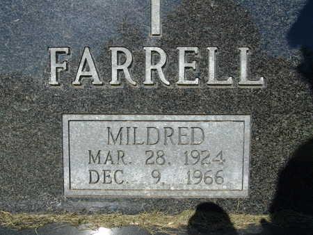 FARRELL, MILDRED - Warren County, Iowa | MILDRED FARRELL