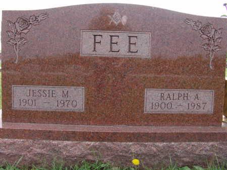 FEE, JESSIE M. - Warren County, Iowa | JESSIE M. FEE