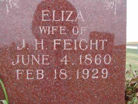FEIGHT, ELIZA - Warren County, Iowa   ELIZA FEIGHT