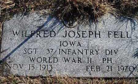 FELL, WILFRED JOSEPH - Warren County, Iowa | WILFRED JOSEPH FELL
