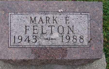 FELTON, MARK F. - Warren County, Iowa | MARK F. FELTON