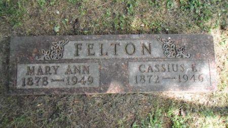 FELTON, MARY ANN - Warren County, Iowa   MARY ANN FELTON