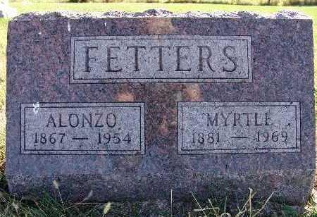 FETTERS, MYRTLE - Warren County, Iowa | MYRTLE FETTERS