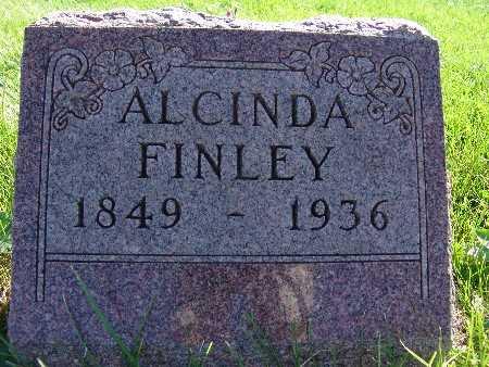 FINLEY, ALCINDA - Warren County, Iowa | ALCINDA FINLEY