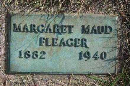 FLEAGER, MARGARET MAUD - Warren County, Iowa   MARGARET MAUD FLEAGER