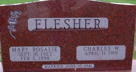 FLESHER, CHARLES W. - Warren County, Iowa | CHARLES W. FLESHER