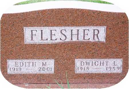 SURFUS FLESHER, EDITH - Warren County, Iowa | EDITH SURFUS FLESHER