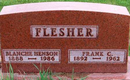 HENSON FLESHER, BLANCHE - Warren County, Iowa | BLANCHE HENSON FLESHER